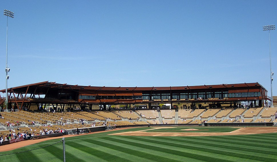 Camelback Ranch view from right field