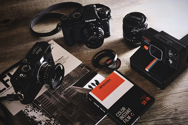 File:Camera equipment film lens (Unsplash).jpg