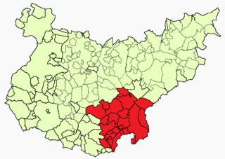 Campiña Sur (Badajoz) Comarca in Extremadura, Spain