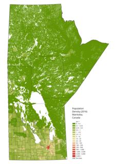 Demographics of Manitoba
