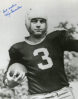 Tony Canadeo Player of American football