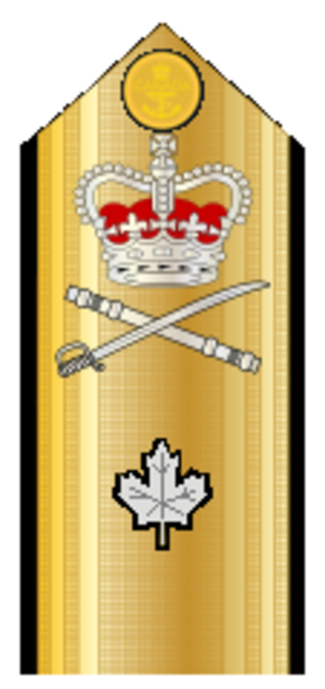 Commodore (Canada) - Image: Canadian Commodore Shoulder Boards
