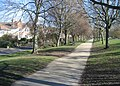Canal side footpath and Twiss Avenue - geograph.org.uk - 727637.jpg