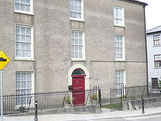 Patrick Augustine Sheehan - Canon Sheehan's house in Doneraile,  as it was in his lifetime