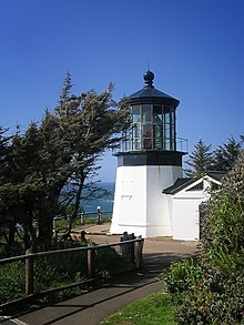 Flashing Red Light >> Cape Meares Light - Wikipedia