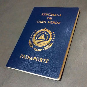 Cape Verdean passport - A Cape Verdean passport