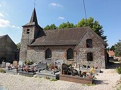 Capelle (Nord, Fr) église, vue latérale.JPG