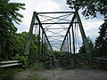 Capon Lake Whipple Truss Bridge Capon Lake WV 2009 07 19 04.jpg