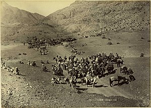The Man Who Would Be King - Khyber Pass caravan  c. 1880s