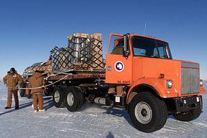 Civilian cargo personnel tie down cargo pallet...