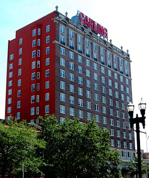 The Carling - Image: Carling Hotel Jacksonville 2010 07 b