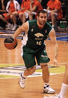 Spanish basketball player