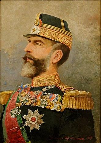 Domnitor - Image: Carol I of Romania by Tadeusz Ajdukiewicz 1897