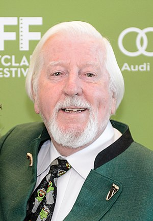 Caroll Spinney - Spinney at the 2014 Montclair Film Festival
