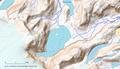 Carte topographique du lac de Chamonix OpenTopoMap.png