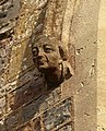 Carved head, St Leonard's Chapel, Cowley - geograph.org.uk - 1740965.jpg