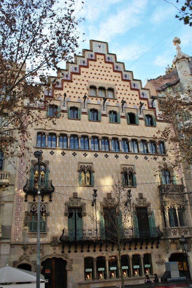 casa amatller sehensw rdigkeit in barcelona spanien. Black Bedroom Furniture Sets. Home Design Ideas