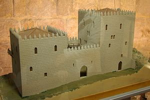 Casa do Infante - A maquette of the old customshouse of the medieval kingdom