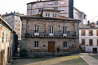 Chantada - Image: Casa do concello de Chantada