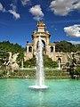 Cascada del Parque de la Ciudadela, Barcelona 2 DSC05829.jpg