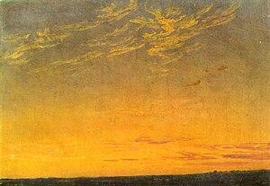 Kunsthalle Mannheim - Image: Caspar David Friedrich Abend (1824)