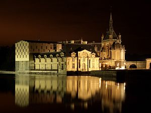Castell Chantilly nit.JPG