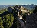 Castelll menor des del Castell Major, Xàtiva.JPG
