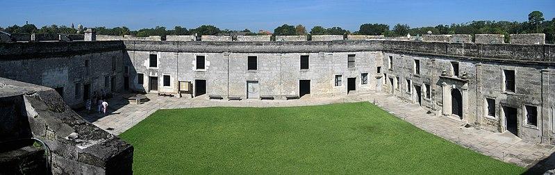 File:Castillo de San Marcos Fort Panorama 5.jpg