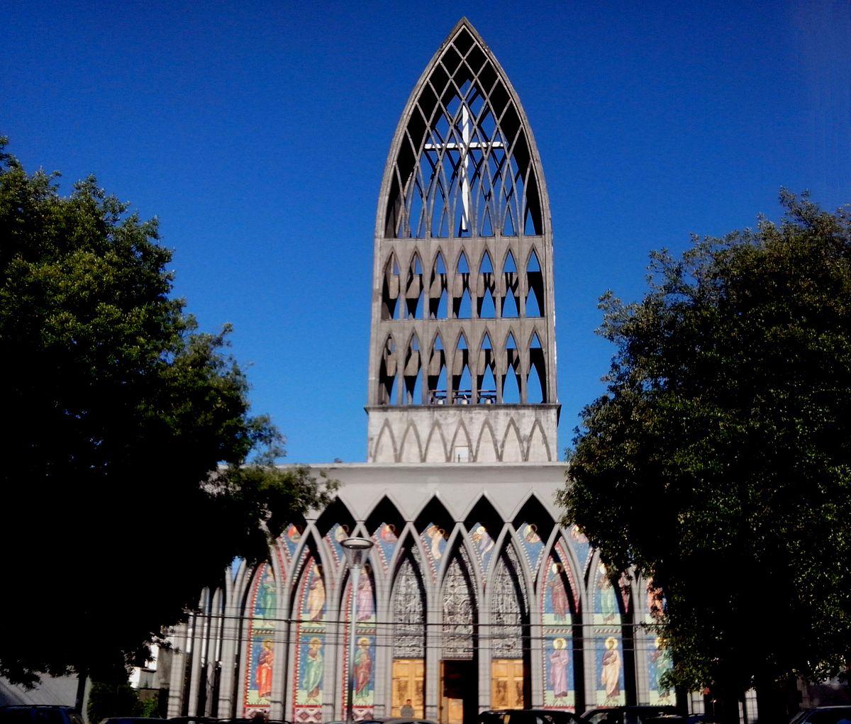 Catedral de san mateo de osorno wikipedia la for Cuando se creo la arquitectura