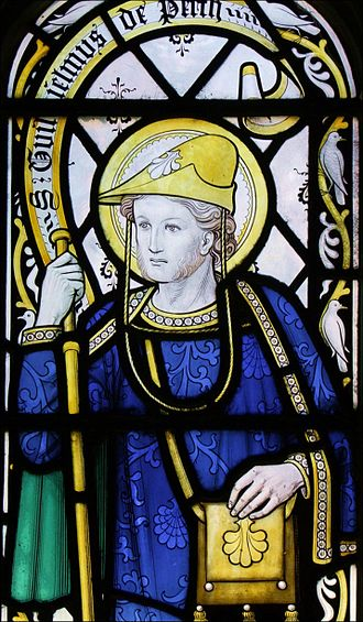 William of Perth - Stained glass window in Rochester Cathedral, late 19th century
