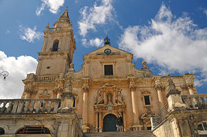 Province of Ragusa - Cathedral of San Giovanni, Ragusa.