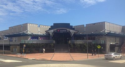 Central shopping complex in 2015 Central Armidale.jpg