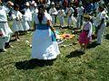 Ceremonia azteca de bienvenida a la primavera en Ayahualulco, Veracruz, México. 17.jpg