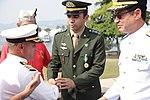 Cerimônia da Imposição da Medalha da Vitória e comemoração do Dia da Vitória, no Monumento Nacional aos Mortos da 2ª Guerra Mundial (26885872446).jpg
