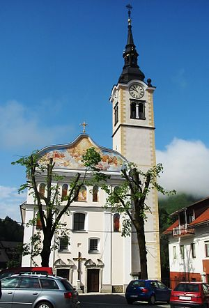 Cerkno - Saint Anne's Church