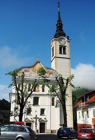 Cerkno - Saint Anne's Church