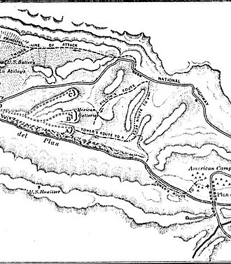 Battle of Cerro Gordo - Image: Cerro Gordo battle field