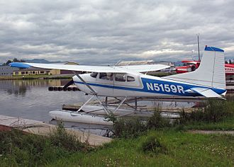 Cessna 185 Skywagon - 1976 Cessna A185F on floats