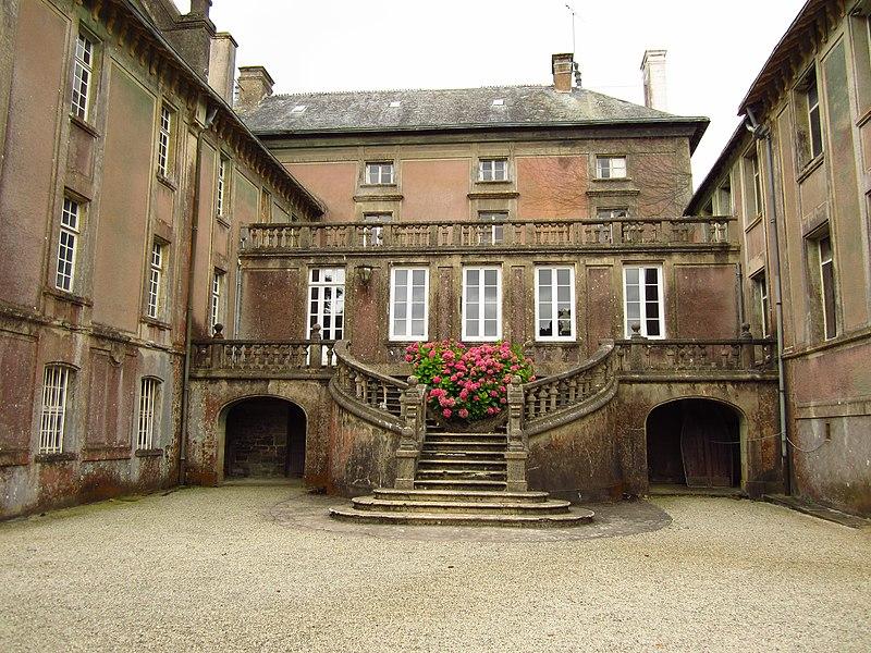 Fr:Château de la Germonière et son parc inscrit aux Monuments historiques