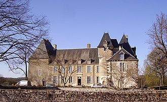 Assigny, Cher - Chateau of La Vallée