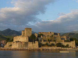 Pyrénées-Orientales - Image: Château royal de Collioure 09