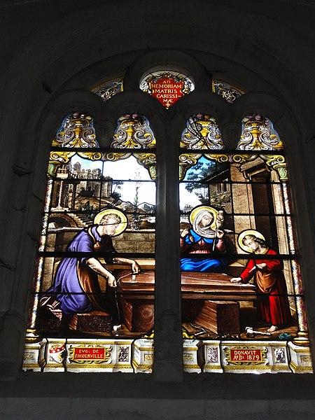 Chailles (Loir-et-Cher) église, vitrail 6