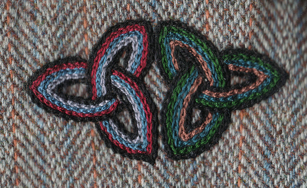 File chain stitch embroidery celtic knot g wikimedia