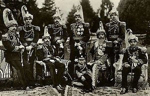 Chandra Shumsher Jang Bahadur Rana - All 8 sons of Chandra Shamsher