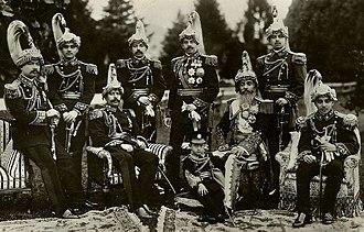 Chandra Shumsher Jang Bahadur Rana - All 8 sons of Chandra Shamsher