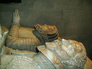 Thomas Lucy - Effigies of Sir Thomas Lucy and his wife, Joyce Acton, St. Leonard's church, Charlecote.
