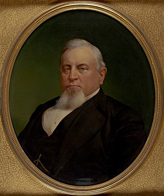 Charles Crocker - c. 1872 by Stephen W. Shaw