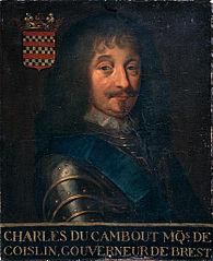 Portrait de Charles de Cambout, marquis de Coislin