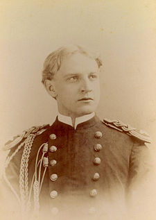 Charlie Bickham on McKinley's staff 1891, from Philippine Insurrection photo album Box 5.jpg