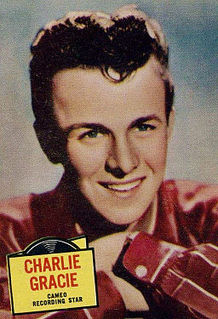 Charlie Gracie American musician